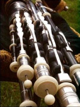 Irish Uileann pipes