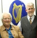 Mary Anne O'Gallagher visiting Professor Gearóid O hAllmhurainat Concordia School of Irish Studies (Montreal)